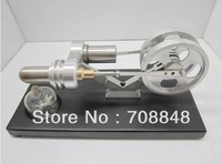 BRAND NEW TWIN FLYWHEELS HOT AIR STIRLING ENGINE 1500 RPM STIRLINGMOTOR NO STEAM/Metal cylinder