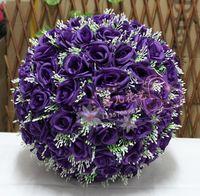 30cm quality rose ball dried flowers artificial flower silk flower plastic flower wedding bouquet home decoration