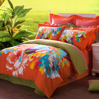 cotton Quality sanded four piece bedding set