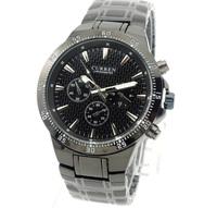 Genuine Brand Curren Quartz Wristwatches for Men Fashion Causal Style Man Whatch Full Stainelss Steel Watchband Male Clocks