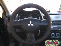Cowhide breathable cover genuine leather MITSUBISHI lancer galant asx steering wheel cover