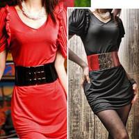 Free Shipping Plus size lengthen cummerbund female all-match elastic wide belt fashionable casual mm cronyism
