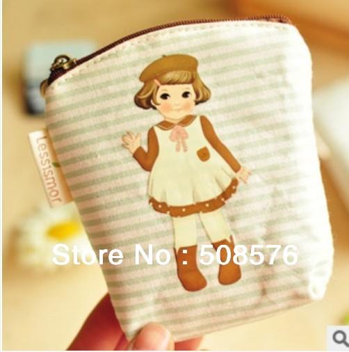 Korea Style Kawaii Girl Design Women Make Up Bag Storage Cosmetic