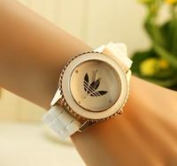 New Fashion Jelly Silicone Rose Gold Watch Ladies Quartz Relogio Feminino Top Brand Women Watch relojes luxury valentine gift