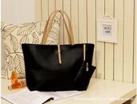2014 Fashion vintage simple PU leather bag handbag for women Candy color,Women's shoulder bag Messenger Bags tote