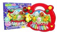 Hot Selling  Cartoon Animal Farm  Harp/educational Music Electronic Organ  Mini Electroic Keyboard Childhood Toys Free Shipping