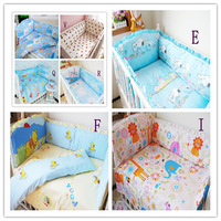 Many Quantities in Stock,Crib Sets Sale,Set Bedding Baby,Perfect Human Nature Design,Free Shipping,5 pcs (4 pcs Bumpers+1 Sheet)