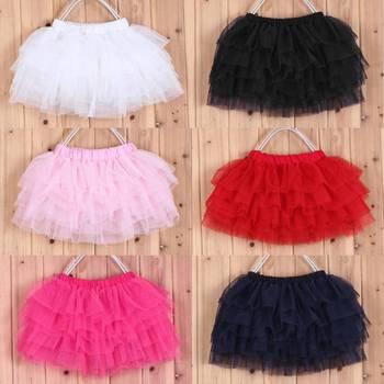 2014 летняя девочка конфеты цвет половина - тюль юбка 7 цветов сплошной цвет оптовая продажа мода бальное платье возраст 4 - 11
