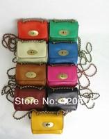 2014 new designer mini women Chains leather handbags bags women famous brands genuine Leather Shoulder Bags Totes Purses FS