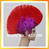 free shipping red dance wigs synthetic wigs (stw-008)