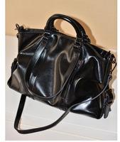 2014 Women's leather handbag vintage fashion wax leather bag bag motorcycle bag messenger bag shoulder