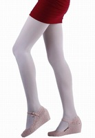 10pair/bag Sexy Lady Thin Elastic Nylon Spandex Pantyhose Sweet Pure Cream Soft Tight Stockings CA008-XL-mibai Free Shipping