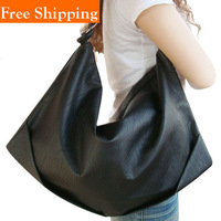 2014 Medium Dumplings Bag New Ladies Shoulder Tote Handbag Faux Leather Hobo New Vintage Celebrity Women Handbag Pu Leather Bag