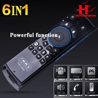 Wholesale  F10 pro Fly Mouse 6-in-1 2.4G Wireless Air Mouse + Keyboard + Remote Control+Voice call + headset + body feeling game