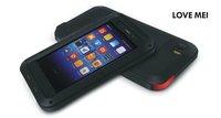 xiaomi M3 Waterproof Dirtproof Shockproof Aluminum + Gorilla Glass metal case, for xiaomi mi3 m3 cover + Free shipping