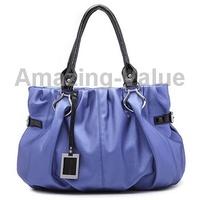 Stylish Affectionate Series Elegant Single-shoulder Bag Blue Handbag for Lady