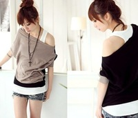 High quality 2012 new spring Camisole I vest bottoming shirt color all-match Camisole