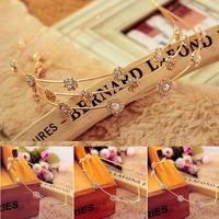 Sweet Faux Pearl / Rhinestone Floral Hair Band Fashion Flower Hair Accessory 3503