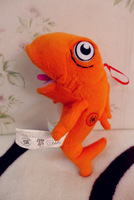 End of a single hat cat fish plush toy doll full length 19cm  for child