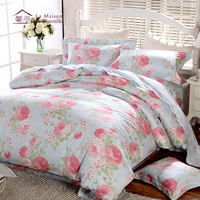 New arrival 100% cotton four piece set French quality home textile