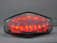 SMOKED Integrated Turn signal For HONDA LED Motorcycle Tail Light 2008-2012 CB1000R; 2012 CBR600F