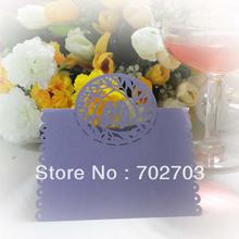 wholesale purple place cards