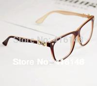 Free shipping fashion 2013 tops,Star Metal rivets frame glasses vintage men women brand designer eye wholesale  1337