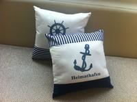 whole-sales,Marine anchor print rudder home sofa kaozhen pillow cushion core