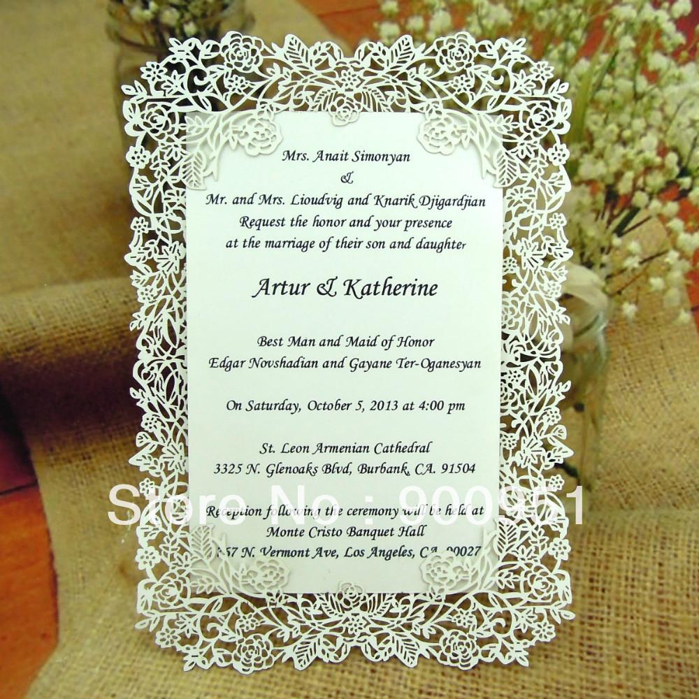 Invitaciones de boda Vintage Ideas