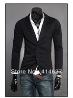 2013 hot sale high quality low profit Mens casual Stunning slim fit Jacket Blazer Short Coat one Button suit