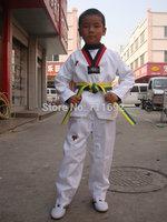 Adult child taekwondo myfi autumn and winter myfi taekwondo clothes tae kwon do