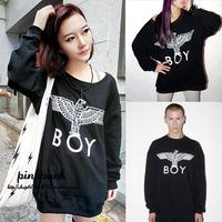 New 2014 Women Eagle London Sweatshirt Fashion street wear hoodies women Long Sleeve tracksuit for women