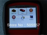 [Autel Honesty Distributor]2014 Latest Autel Maxidiag Elite diagnostic tool MD704( 4systems)+Free shipping
