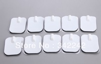 50pcs Physical therapy equipments Conductive tens electrodes pads /replacement of tens pads,Silica gel electrodes