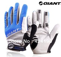 Pair 2014 New High Quality GIANT Full Finger GEL Cycling Gloves & Winter Bike Gloves For Cycling Sport
