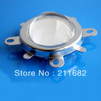 Free shipping 20W 30W 50W 100W led Glass Lens with Reflector Collimator, reflective cup and holder 44mm