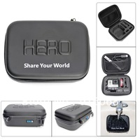new arrival 7 inch GoPro case Accessories HD Shockproof  WaterProof Portable Case For GoPro Hero HD3 2 Z5