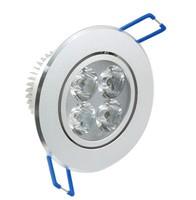 New 12W 220V 110V  LED Ceiling Light Epistar 4 LEDs Warm White Cool White LED Light For Home Living Room