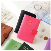 2014 new,Sweet buckle passport holder passport cover anti-degaussing free shipping !!!