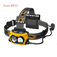 1pc Fenix HP25 two Cree XP-E LEDs Outdoor Headlamp 360 Lumens Waterproof Rescue Search Headlight + Free Shipping