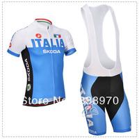 Quick Delivery! 2014 castelli Italia bike cycling jersey short sleeve and bicicleta bike bib shorts/ ciclismo clothing set TB421