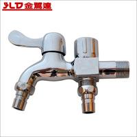 Copper two-site multifunctional washing machine mop pool faucet washing machine water inlet pipe shower plumbing hose