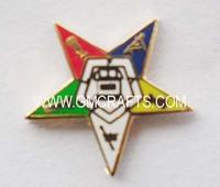 FREE SHIPPING masonic star pin