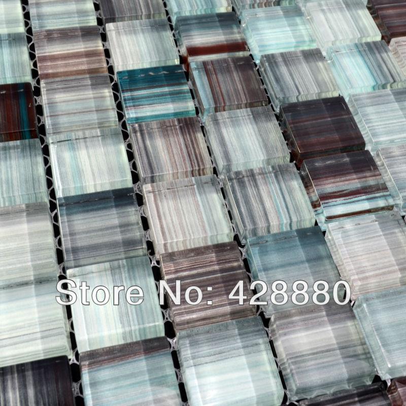 Online kopen wholesale glasmoza ek badkamer uit china glasmoza ek badkamer groothandel - Deco mozaieken badkamer ...