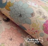 Бумага упаковочная для подарков и цветов 62