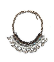 2014 New Fashion Brand Crystal Inline Shell Choker Necklace Vintage Retro Party Jewelry For Women Free Shipping