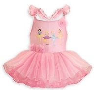 2014 summer new hot baby girls dress dancing ballet performances Snow Puff lace veil dress