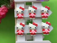 Free Shipping 50 PCS/Lots DIY Very Hot and Kawaii   Resin cabochons For  phones and photo frames DIY Resin KT cat