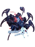 Free shipping,  20 degrees of freedom, six-legged spider robot with mechanical claw
