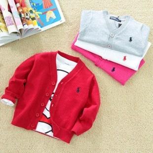 2015 мальчик свитер детская одежда девушки пальто свитера весной и осенью вязать кардиган куртки пальто 0010719